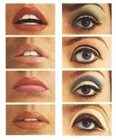 Vintage Makeup make up inspiration. Makeup Inspo, Makeup Art, Makeup Inspiration, Makeup Tips, Beauty Makeup, Hair Makeup, Makeup Ideas, Makeup Geek, Make Up Looks
