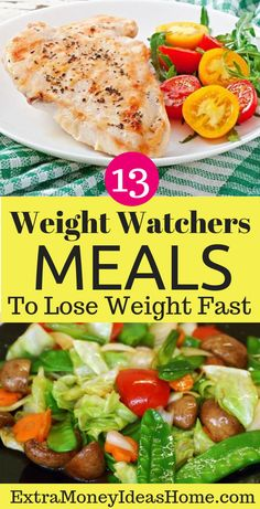 The Best 13 Weight Watchers Meals. The Best 13 Weight Watchers Meals to Lose Weight and Stay Fit. These 13 Best Weight Watchers Meals Taste Great Too Weight Watcher Dinners, Plats Weight Watchers, Weight Watchers Diet, Weight Watchers Meal Plans, Clean Eating, Healthy Eating, Healthy Food, Healthy Meals, Ww Recipes