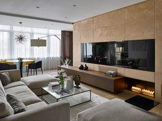 Modern, elegáns lakás természetes hangulattal, szép felületekkel, anyagokkal
