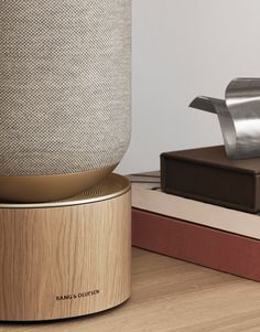 Newly released LAYER x Bang & Olufsen speaker is a smart design for serious audiophiles! Bang And Olufsen, Speaker Design, Yanko Design, Dim Lighting, Cosmetic Packaging, Room Setup, Smart Design, Sound Design, Layers Design
