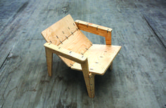 The Zip Tie Lounge Chair | MAKE