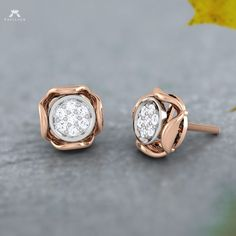 Worn to compliment your style and express your feelings. Solitaire Earrings, Diamond Earing, Diamond Stud, Diamond Jewelry, Stud Earrings, Designer Earrings, Fine Jewelry, Jewellery, Indian Jewelry