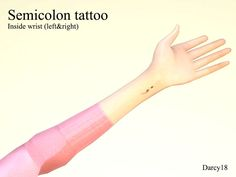 A simple tattoo on the inside of the wrist. Found in TSR Category 'Sims 4 Male Tattoos'