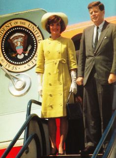 The President and First Lady arrive in Columbia for the final leg of their South American tour ~ Dec. 17th 1961