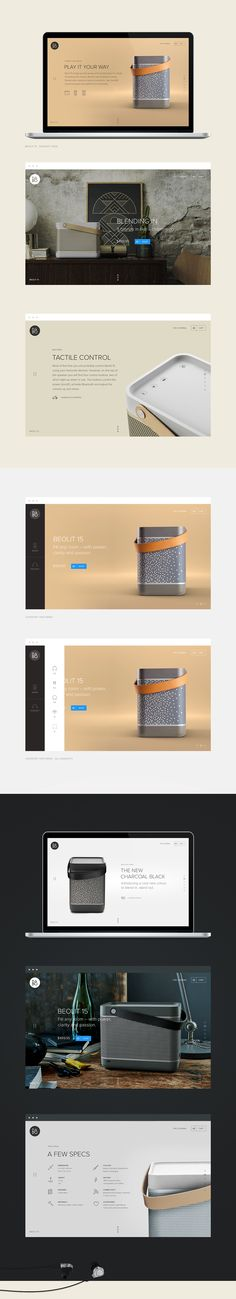 B&O Play - Design for music on Behance