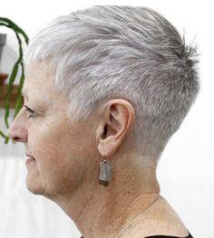 Die 82 Besten Bilder Von Graue Kurzhaarfrisuren Für ältere