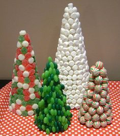 Deliciously Festive Candy Christmas Trees