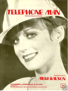 http://www.youtube.com/watch?v=bTDzFUlrDYM  'Hey Baby, I'm Your Telephone Man': 'Sexy' double entendre novelty hit of the 1970s