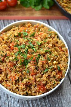 Mexican Cauliflower Rice   Every Last Bite