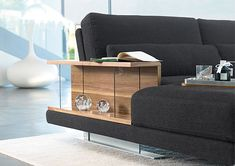 All you need in an 'end table' - I love it!  The Rolf Benz VERO Comfort Sofa http://www.nicespace.me/the-rolf-benz-vero-comfort-sofa-312/