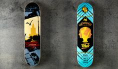 Skateboard Decks by Pawel Kozlowski  5