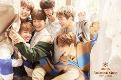 ASTRO release teaser images for 3rd mini-album 'Autumn Story'   allkpop.com