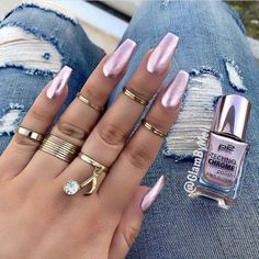 Nail Care, Manicure & Pedicure Delicious Primark 24 False Nails Ps Pink Princess Stiletto Pointed Ladies Artificial Nail Tips