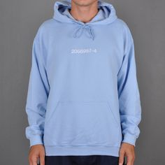 Beyond BIC hoodie, light blue