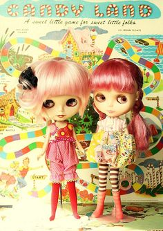candy land girls by: mab graves #blythe