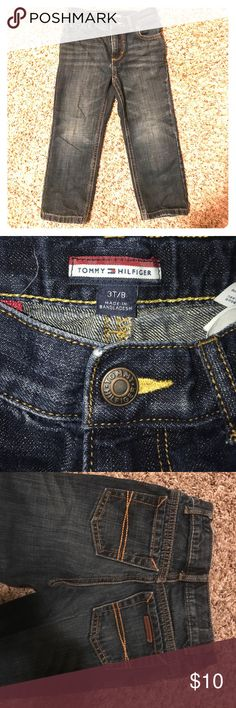 Boys 3T Tommy Hilfiger jeans Like New Boys 3T Tommy Hilfiger jeans Like New Tommy Hilfiger Bottoms Jeans