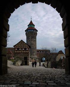 Nürnberger Burg   Kult-Urzeit