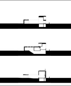 Zumthor House sections 01