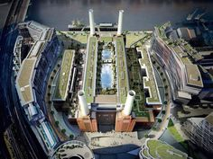 Apple is moving its UK headquarters to the Battersea Power Station — London's iconic brick building that Pink Floyd portrayed on the cover of its 1977 album… Property Development, Real Estate Development, Pink Floyd, Apple Uk, Battersea Power Station, Art Deco Stil, London History, New London, Uk Homes