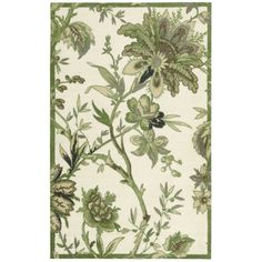 Waverly Artisanal Delight Felicite Leaf Area Rug by Nourison