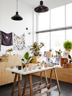 Brand new North Melbourne store Guild of Objects, opened by local ceramicists Brooke Thorn, Chela Edmunds and Tao Oudomvilay. Photo – Annette OBrien.