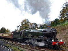 """GWR 4073 Castle Class No.5029 """"Nunney Castle"""""""