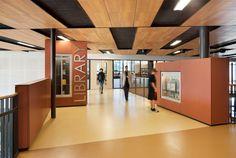 Integrus Architecture | K-12 schools;     signage and ceiling