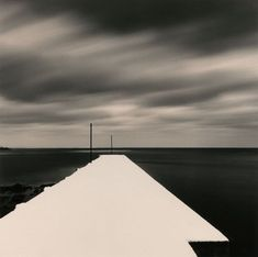 Michael Kenna | Photography and Biography. Long exposure makes sky blurred.