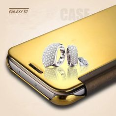 There are 6 color for your Samsung Galaxy S6/S7, S6/S7 Edge,Gold, Blue, Purple, Silver, Black, Rose Gold.  Product Feature: 1. Smart Wake 2. 360-degree Protection