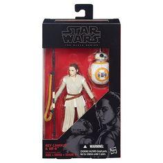 Star Wars The Black Series 6-Inch Rey (Jakku) and BB-8