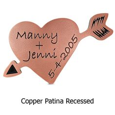 Carved Initials Hanging Tree Plaque in Copper Patina. Proudly made in the USA by Atlas Signs and Plaques! Wedding Anniversary Gifts, Wedding Day, 7th Anniversary, Have Metal, It Gets Better, True Love, Perfect Wedding, Heart Shapes, Initials