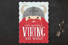 Viking to You Classroom Valentine's Cards by Itsy ... | Minted