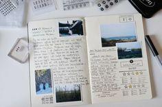 55 Best Ideas For Travel Journal Polaroid Scrapbook Layouts - Reisen Album Journal, Planner Bullet Journal, Journal Diary, Photo Journal, Journal Pages, Journal Ideas, Trip Journal, Bullet Journal Travel, Memory Journal