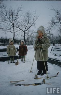 Moscow kids 1960s