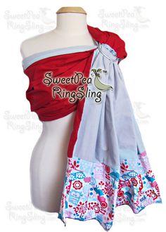 Ruby Forest - SweetPea Ring Slings™  http://www.sweetpearingsling.com/rubyforest.htm