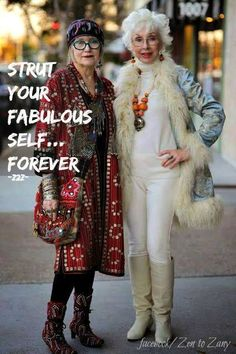 .I want to be these fabulous ladies!!!!!
