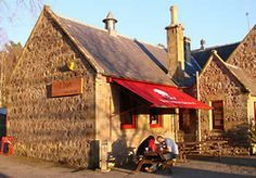 Druie cafe Restaurant -Rothiemurchus is situated about 2 miles from the main A9 road from Perth to Inverness and 5 mins by car from Aviemore. Need to go here!