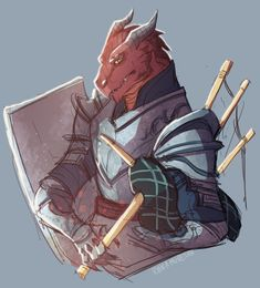 m Dragonborn Fighter Bard Plate Armor Shield Bagpipes med Dungeons And Dragons Art, Dungeons And Dragons Characters, Dnd Characters, Fantasy Characters, Character Creation, Character Concept, Character Art, Concept Art, Character Design