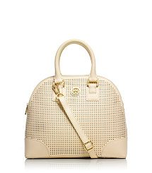 ROBINSON PERFORATED SMALL DOME SATCHEL. I hate what she charges, but I love it.