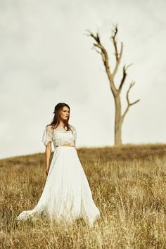 Bohemian Country Wedding Dresses: Wildly romantic and effortlessly sophisticated, Noah embodies the very essence of luxe bohemian glamour.