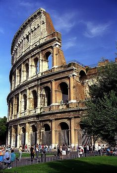 Roman Coliseum! Where one of the gladiator actors standing outside sacred us! #beentheredonethat