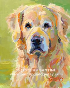 "8""x10"" pet portraits, acrylics on museum quality panel, by Kimberly Kelly Santini of Painting a Dog a Day, $469. Other sizes and price points available."