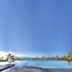 Clear Blue @ W Retreat, Koh Samui, Thailand
