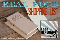 Food Renegade's Shopping Guide -- Want to know where to find sprouted raw almonds or grass-fed butter? Check out this online list to see which brands and online suppliers Food Renegade trusts.