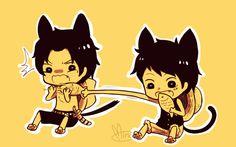 One Piece, Ace, Luffy