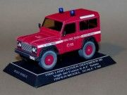 Turin Fire Department 1998 Land Rover Defender 90 Free Vehicle Paper Model…