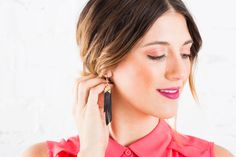 Make This DIY Leather Jewelry With Our New Kit via Brit + Co.