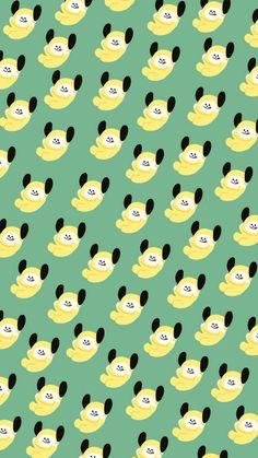 BTS wallpapers for iPhone Bts Backgrounds, Cute Wallpaper Backgrounds, Bts Wallpaper, Cute Wallpapers, Line Friends, Bts Chibi, Bts Fans, About Bts, Bts Lockscreen