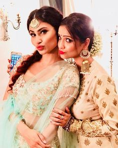 "41 Likes, 1 Comments - Nagin 3 (@nagin_season_3) on Instagram: ""Guess who?? #naagin3 #naagin #sanayairani #surbhijyoti #mouniroy #adaakhan"""