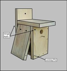 Easy free winter bird house plans to provide a winter bird roost ...